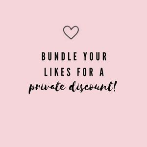 Bundle your likes for a private discount!